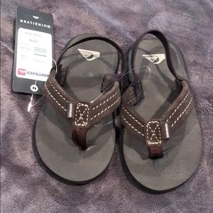 NEW Quicksilver Toddler Sandals